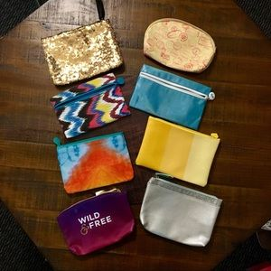 Ipsy bags set of 8